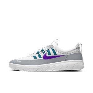 Кроссовки для скейтбординга SB Nyjah Free 2 - Серый Nike