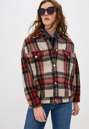 Куртка Iro. Цвет: бежевый