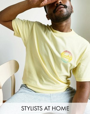 Желтая футболка -Желтый Carhartt WIP