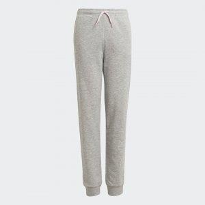 Трикотажные брюки Essentials adidas. Цвет: розовый