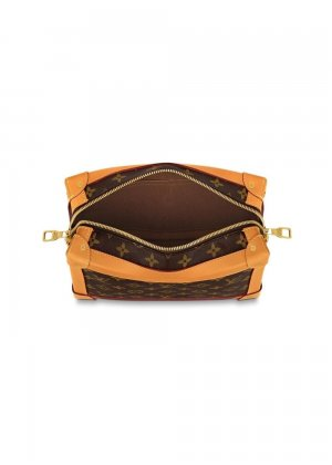 Клатч Mini Soft Trunk 2010-х годов pre-owned Louis Vuitton. Цвет: brown