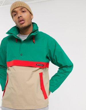Зеленая куртка Ski Smock 86-Зеленый Berghaus