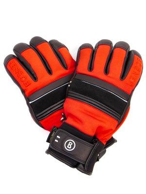 Перчатки горнолыжные BOGNER. Цвет: красный