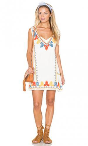 Платье casablanca Tularosa. Цвет: ivory