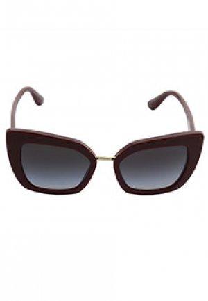 Очки DOLCE&GABBANA sunglasses. Цвет: бордовый