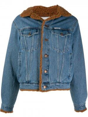 Джинсовая куртка с нашивкой Forte Dei Marmi Couture