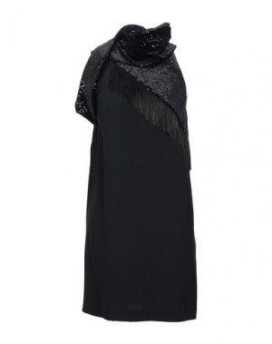 Короткое платье ANNARITA N. Цвет: черный