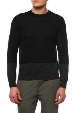 Пуловер Cerruti. Цвет: черный с серым