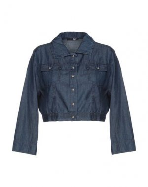 Джинсовая рубашка B.YU. Цвет: синий