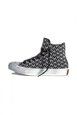 Кеды Converse. Цвет: black, white, auburn