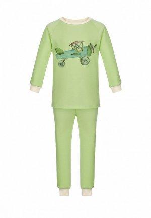 Пижама Lisa&Leo. Цвет: зеленый