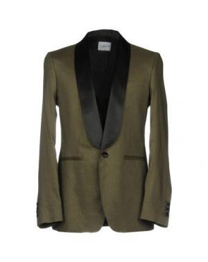 Пиджак ALL APOLOGIES. Цвет: зеленый-милитари