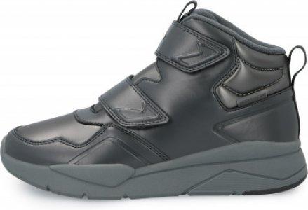 Кроссовки для девочек Prime Mid G, размер 34 Demix. Цвет: серый