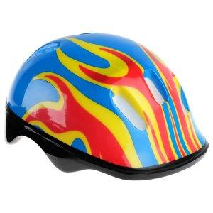 Шлем защитный детский ot-h6, размер m (55-58 см), цвет синий ONLITOP