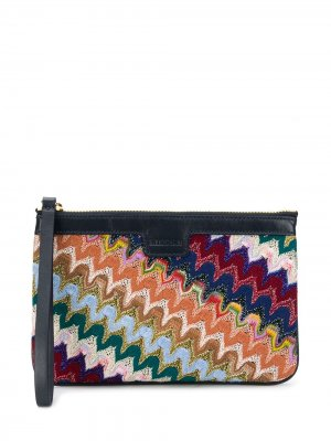 Abstract pattern purse Missoni. Цвет: синий