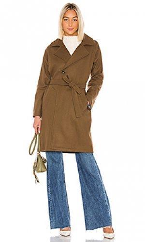 Тренч manteau A.P.C.. Цвет: коричневый