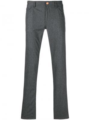 Классические брюки Pt05. Цвет: серый