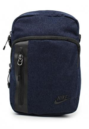 Сумка Nike MENS TECH SMALL ITEMS BAG. Цвет: синий
