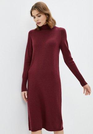 Платье Alpha Studio. Цвет: бордовый