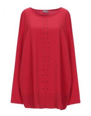 Блузка BASLER. Цвет: красный