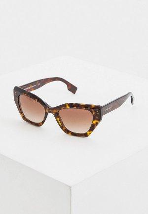 Очки солнцезащитные Burberry 0BE4299 383013. Цвет: коричневый