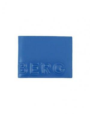 Бумажник ICEBERG. Цвет: синий
