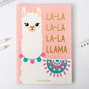 Ежедневник la-la llama, 96 л, искусственная кожа ArtFox