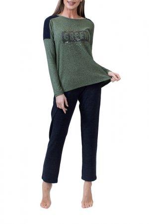 Комплект с брюками Catherines Catherine's. Цвет: зеленый