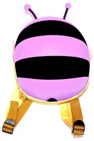 Ранец детский «пчелка» BRADEX. Цвет: сиреневый