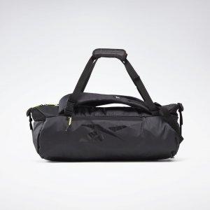 Спортивная сумка-трансформер Tech Style Grip Reebok. Цвет: black