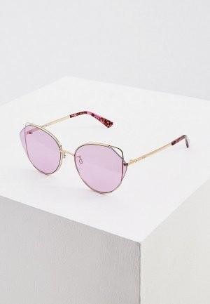 Очки солнцезащитные McQ Alexander McQueen MQ0286SA. Цвет: золотой