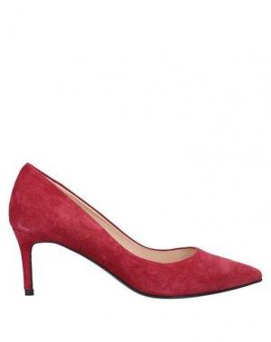 Туфли JET-SET Paris. Цвет: красно-коричневый