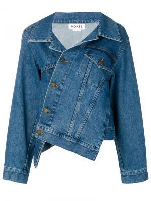 Асимметричная джинсовая куртка Monse