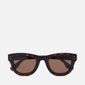 Солнцезащитные очки Sidney Burberry. Цвет: коричневый