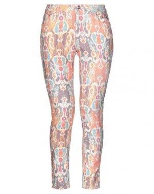 Джинсовые брюки PT Torino. Цвет: оранжевый