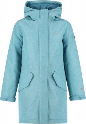 Куртка утепленная для девочек , размер 158 Outventure. Цвет: голубой
