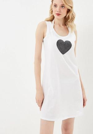 Платье пляжное Twinset Milano. Цвет: белый