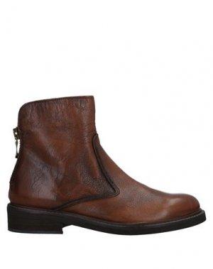 Полусапоги и высокие ботинки JOSEPHINE. Цвет: желто-коричневый
