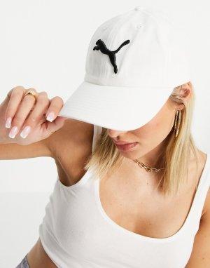 Белая кепка с логотипом -Белый Puma