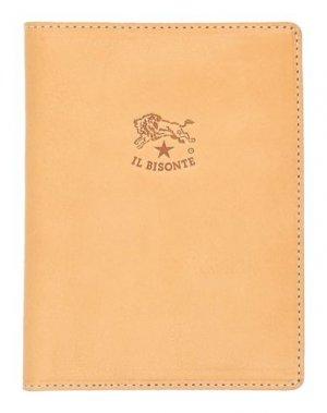 Чехол для документов IL BISONTE. Цвет: желто-коричневый
