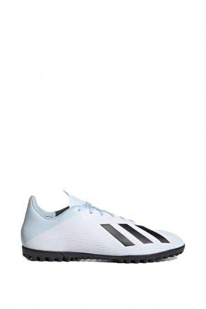 Бутсы X 19.4 TF adidas. Цвет: белый