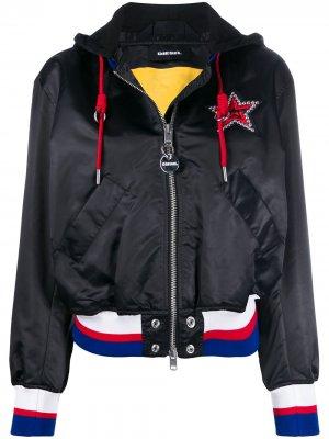 Куртка-бомбер Diesel. Цвет: черный