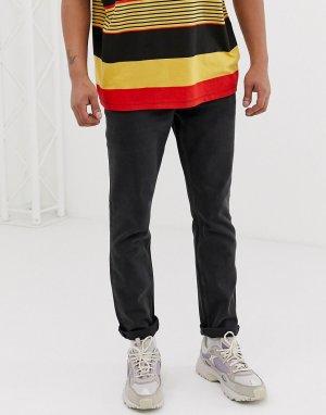 Черные узкие джинсы Sonic-Черный Cheap Monday