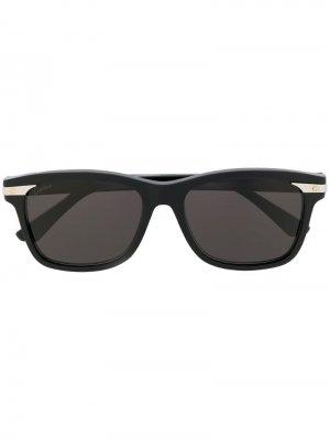 Santos de sunglasses Cartier. Цвет: черный