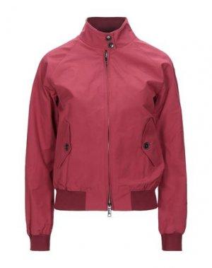 Куртка BARACUTA. Цвет: пурпурный