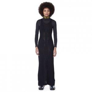 Платье-свитер by Pyer Moss Vector Reebok. Цвет: black
