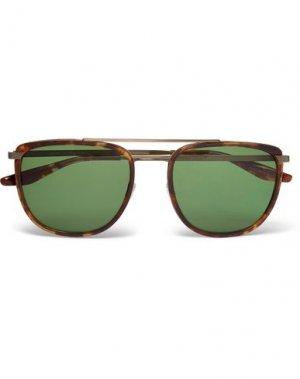 Солнечные очки BARTON PERREIRA. Цвет: платиновый