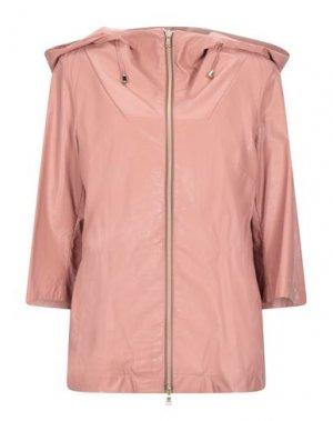 Легкое пальто GEOSPIRIT. Цвет: пудровый
