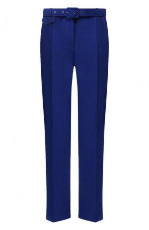 Брюки с поясом Givenchy. Цвет: синий