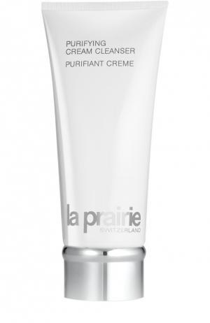 Крем очищающий для кожи лица и шеи Purifying Cream Cleanser La Prairie. Цвет: бесцветный